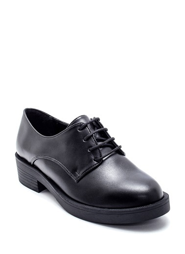 Derimod Kadın Ayakkabı (10167-04) Klasik Siyah